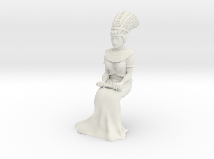 28mm Cleopatra Sitting down 3d printed