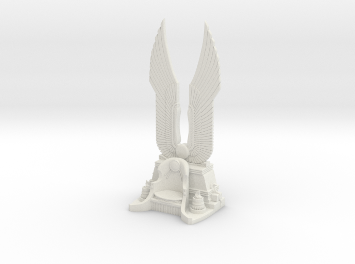 35mm Cleopatra Throne 3d printed