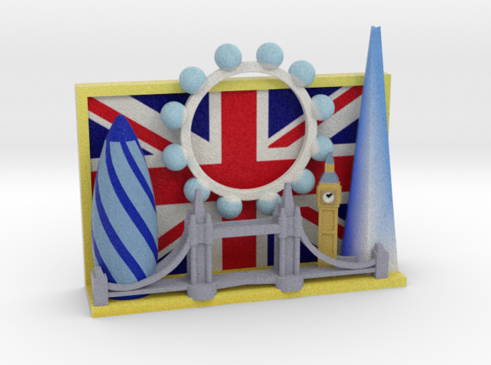 London Picture 3d printed