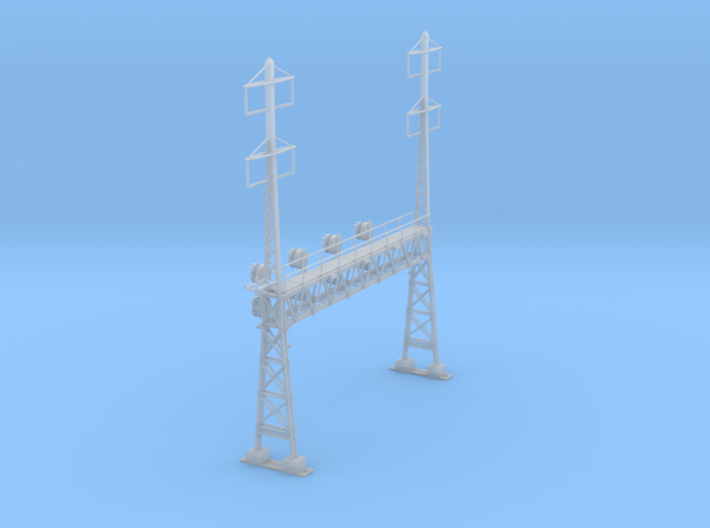 CATENARY PRR LATTICE SIG 4 TRACK 2-2PHASE N SCALE 3d printed