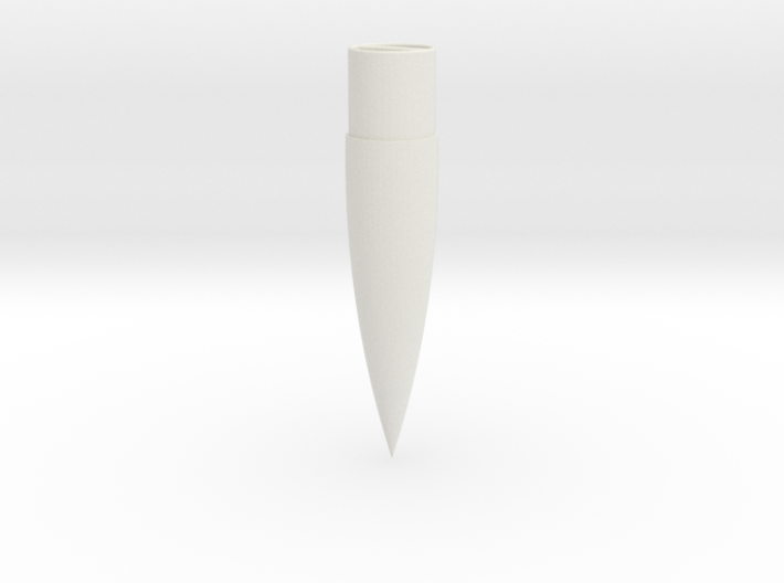 29mm 4:1 Ogive Nose Cone 3d printed
