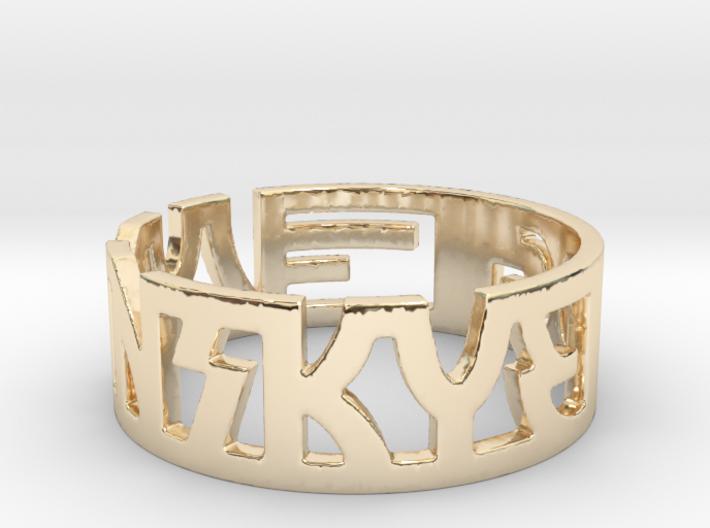 DITISHEM01 Ring Size 9 3d printed