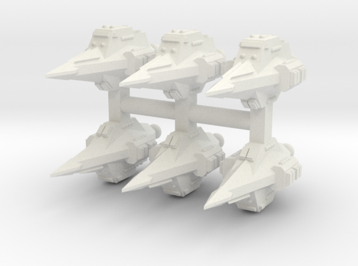 JAL003 Arrifek Assault Shuttle 3d printed
