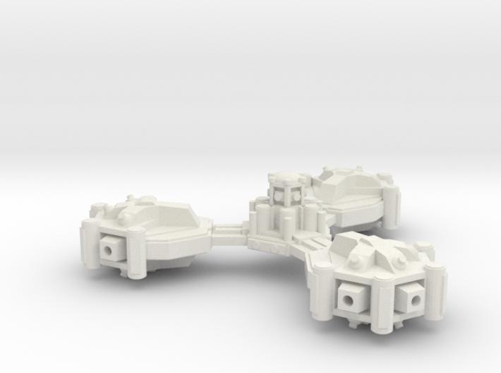 Heavy gun platform 3d printed
