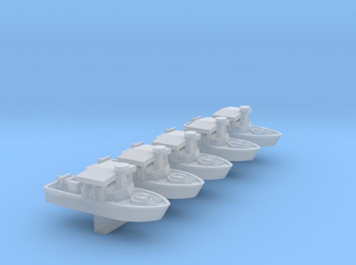 1/700 Scale Vietnam PBR Mk 2 X 5 Off 3d printed