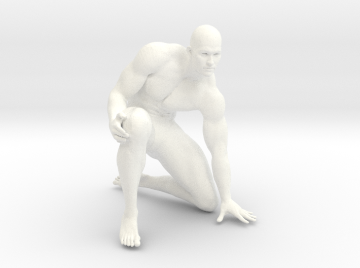 2016014-Strong man scale 1/10 3d printed