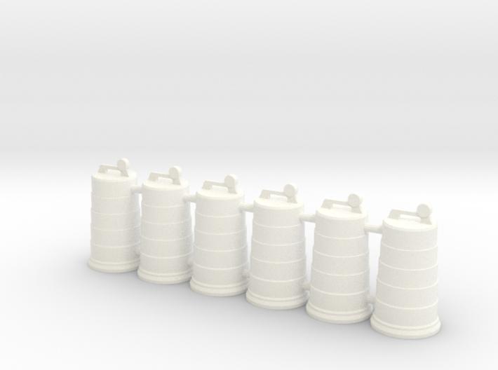 Traffic Drum 01. 1:24 Scale 3d printed