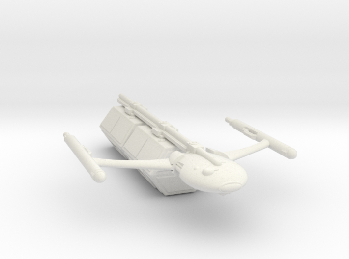 Civilian Modular Freighter with Two Hexagonal Pods 3d printed