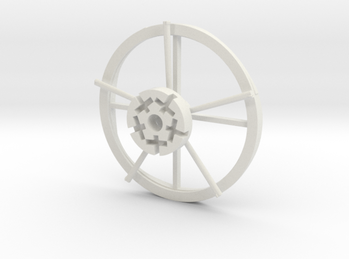 Hampton Boat Sweeps Track And Center Hub 3d printed