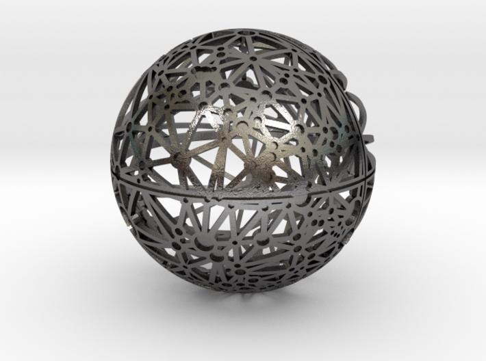 Craters of Mercury Desk Sculpture 3d printed