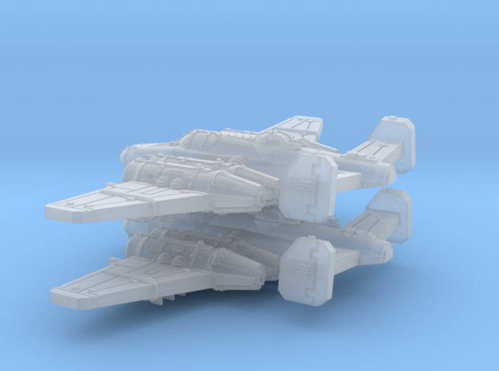 Bomber (Short nose version) 3d printed