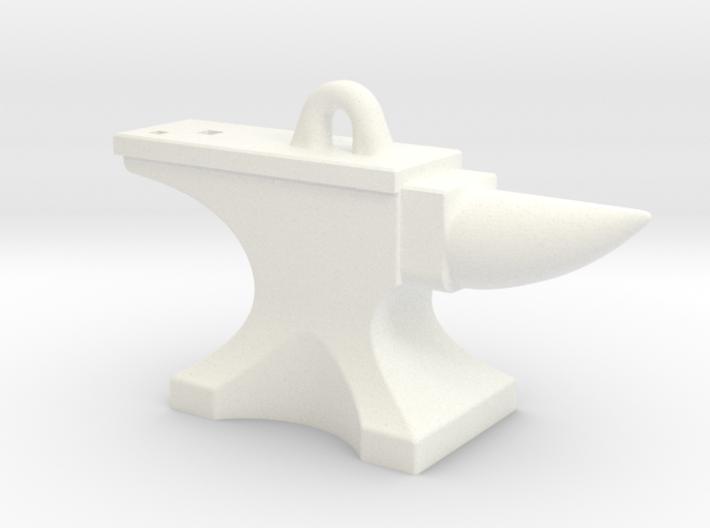 Anvil Pendant - Original Design 3d printed