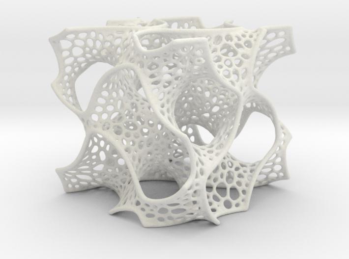 Gyroid Math Art 3d printed