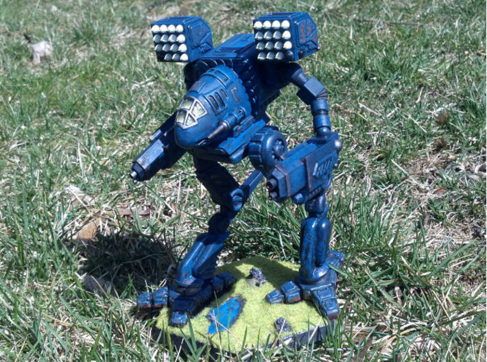 Mad Cat / Timber Wolf Battlemech 1/72 Scale 3d printed FUD Model painted and customized by dragnse7en