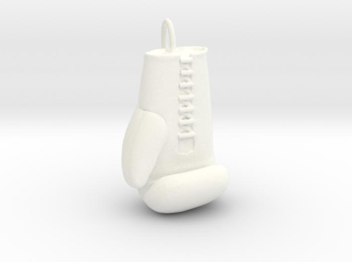 Boxing glove pendant 3d printed