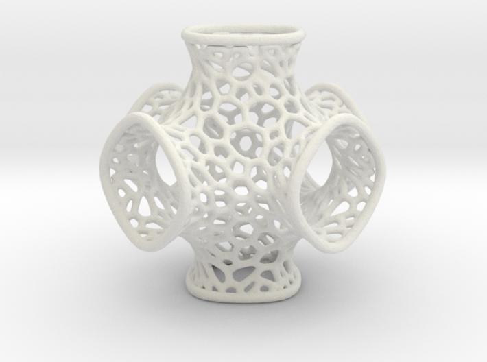 Schwarz Optimized Geometry 3d printed