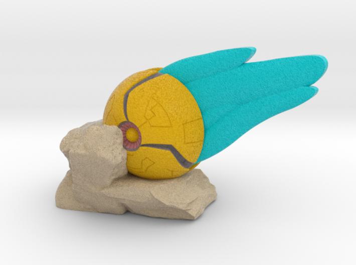 Samus Morph Ball Crashing 3d printed