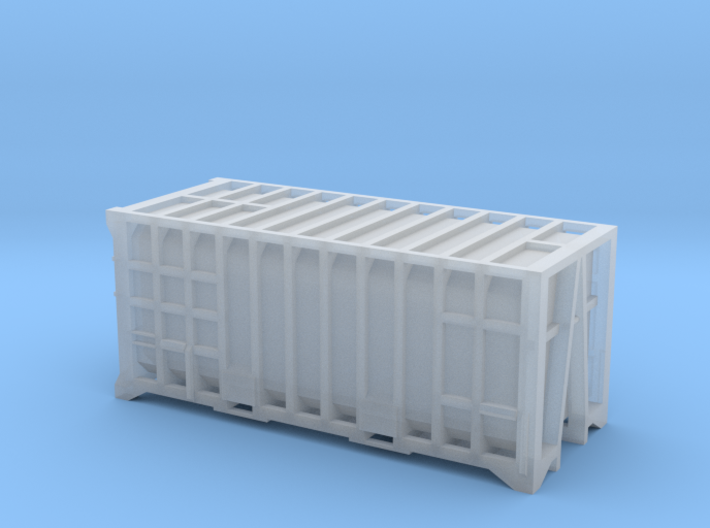 20 Waste Container Manchester 80s (N Gauge 1:148) 3d printed