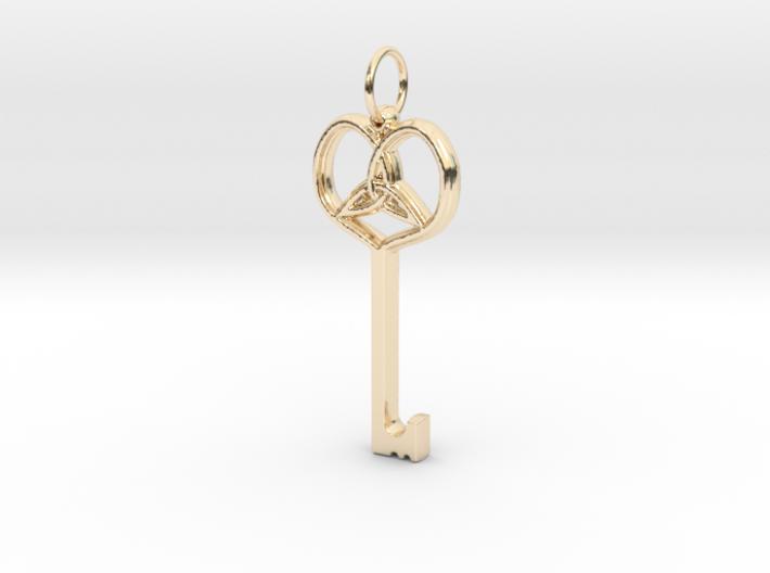 Friggjarlykill - Key of Frigg 3d printed