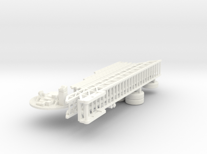 1/64 ALF TDA parts 3d printed