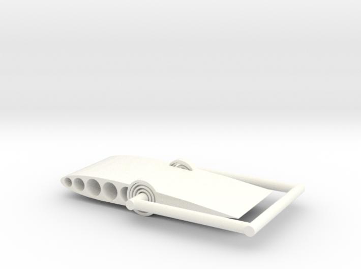 Aeroelastic Airfoil Version 2 3d printed