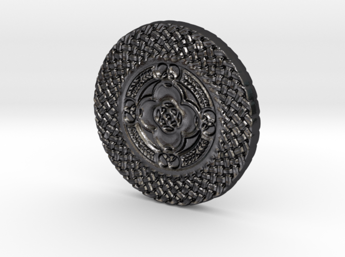Celtic Shield Coin 3d printed
