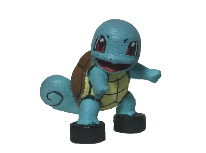 Custom Squirtle Pokemon Inspired Lego 3d printed