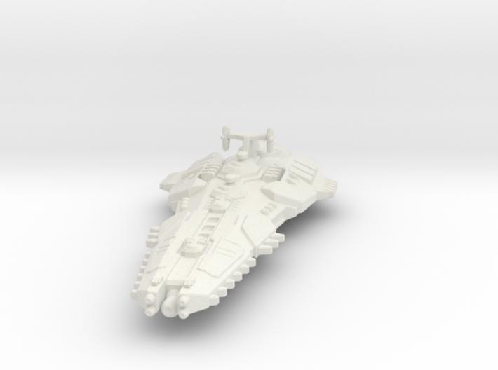 Stravok Kurr Command Ship 3d printed