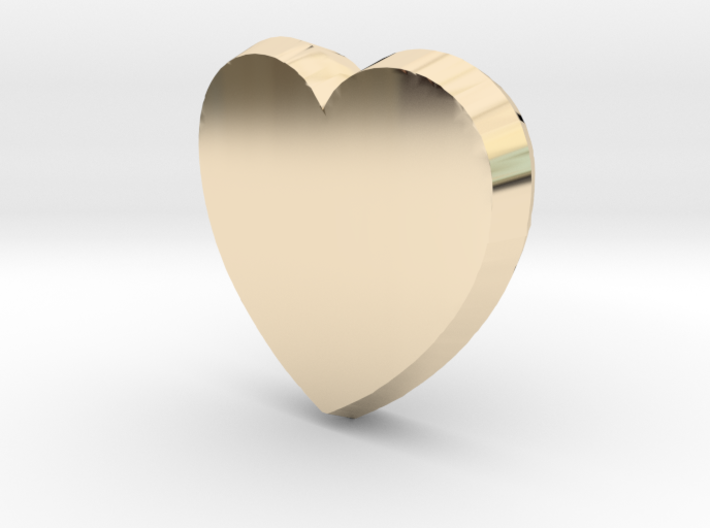 Tooth Art- Heart 3d printed