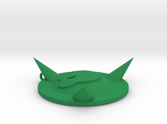 Battletoads Necklace 3d printed
