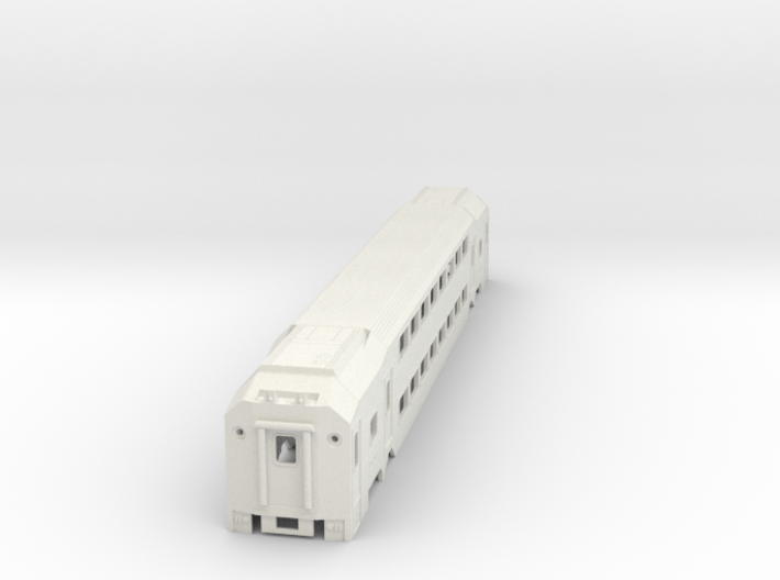 Nj Transit MultiLevel Coach (HIghDetailed) N Scale 3d printed