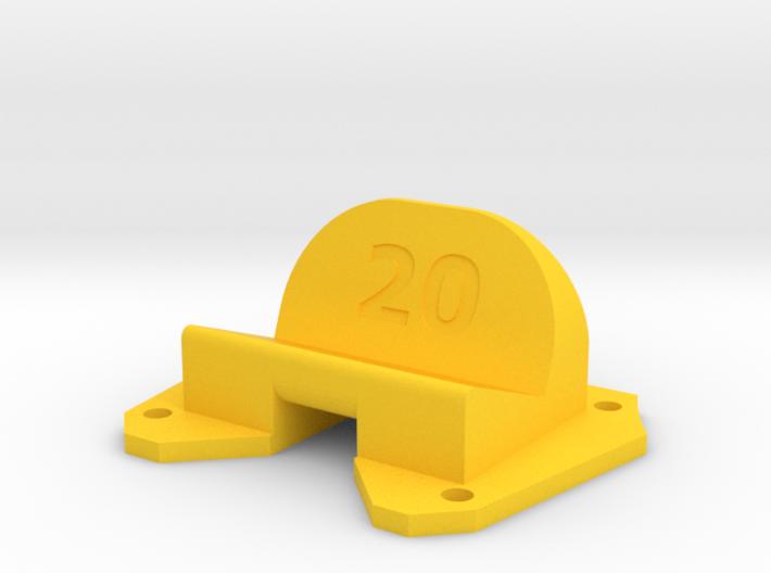Birdseye KillerBEE - 20° Action Cam Mount 3d printed