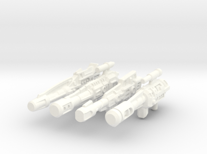 Combiner Wars Stunticon Deluxe Weapons 3d printed