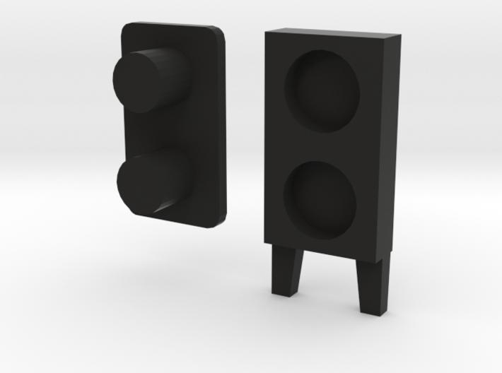 Handle Rear Side Window D90 D110 3/3 3d printed