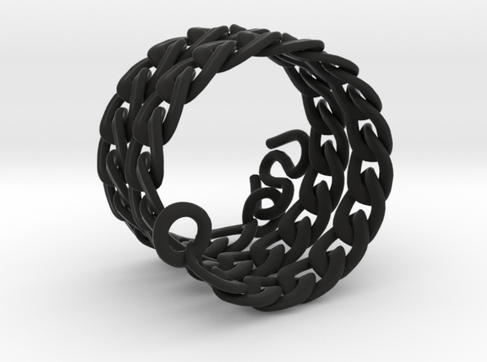 Chunky Chain 3d printed