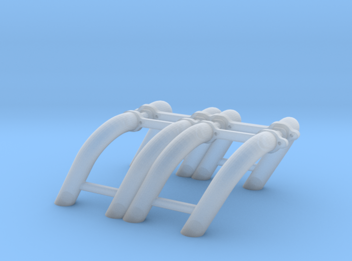 1/24 SBC Zoomie Headers 3d printed