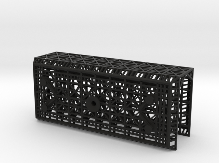 Outboard Module Square (1/700) 3d printed