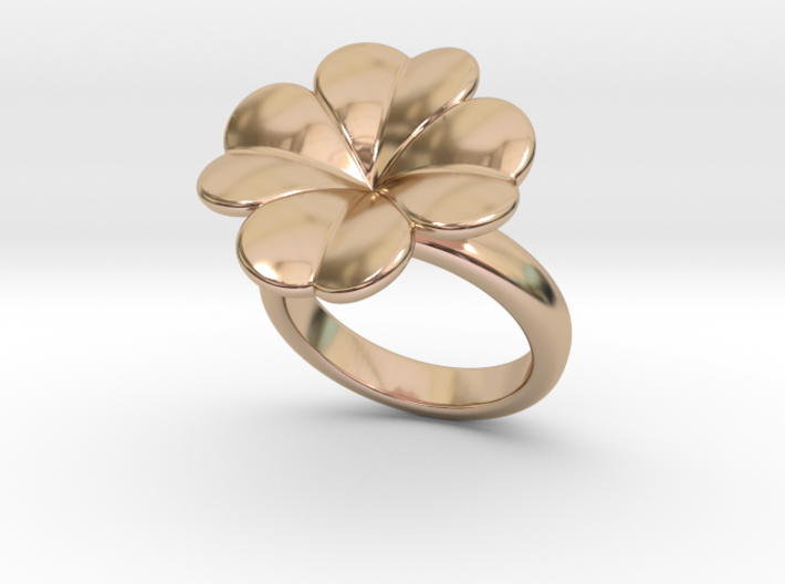 Lucky Ring 28 - Italian Size 28 3d printed