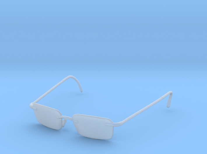 Agent smith 1/6 scale glasses 3d printed