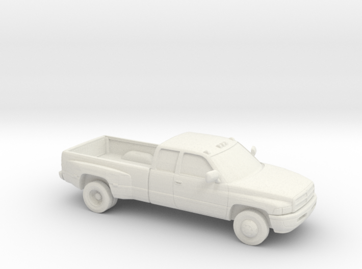 1/64 1994-01 Dodge Ram Extendet Cab Dually 3d printed