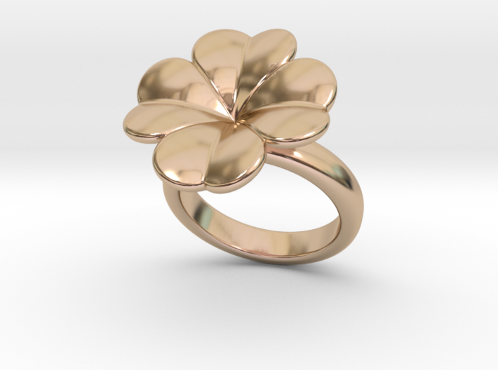 Lucky Ring 32 - Italian Size 32 3d printed