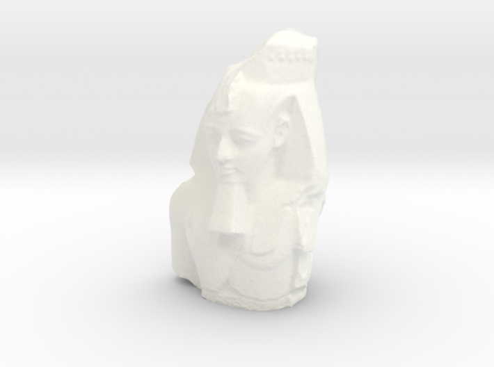 Ramesses II (1279 – 1213 BC), The Colossal Bust of 3d printed