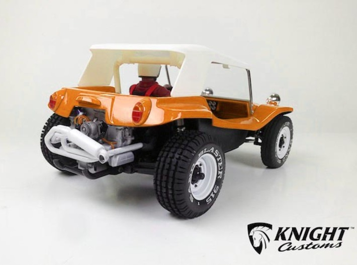 """SR40009 Beach Buggy Classic Full Roof 3d printed PLEASE NOTE: This is for the Full Roof part only. To purchase the complete bodyset in this configuration please click the """"Add Set to Cart"""" Button below."""