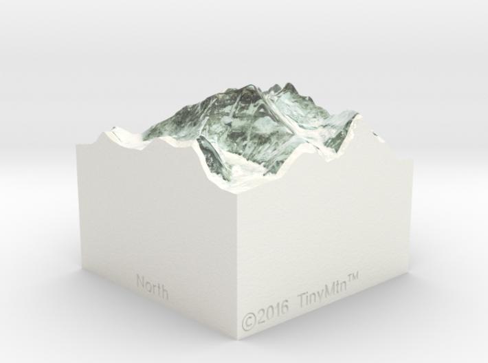 Mt. Everest, China/Nepal, 1:250000 Explorer 3d printed