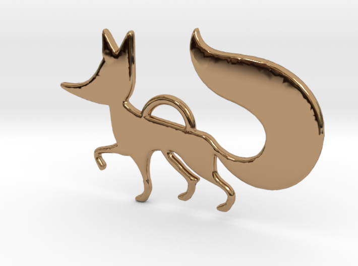 The little Fox 3d printed