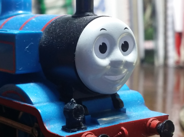 Thomas and Friends Lamp (HO/OO) 3d printed Printed with a ROBO R1 Plus.
