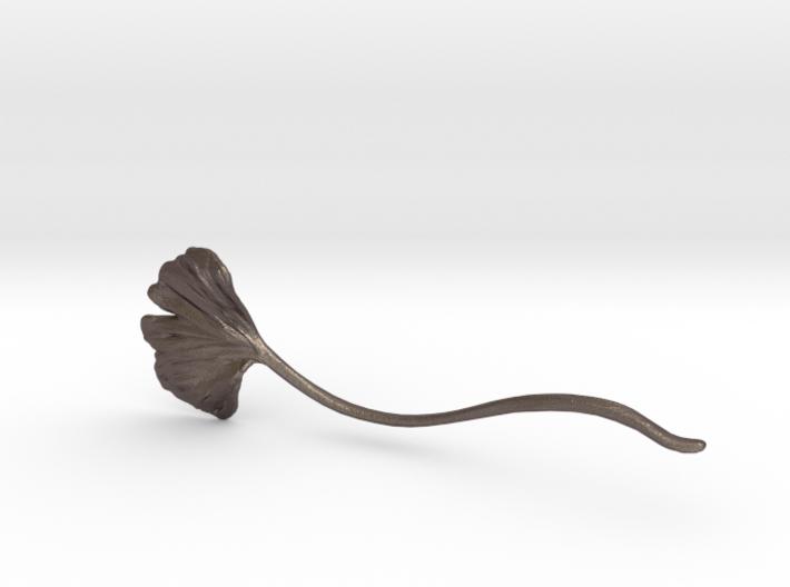 Gingko Hair Pin Curve 3d printed