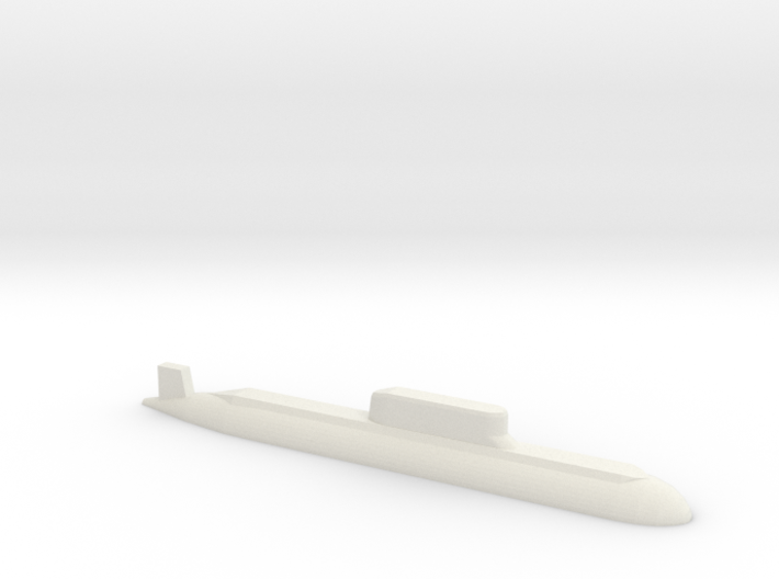 032 submarine, 1/1800 3d printed
