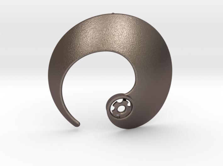 Enso No.1 Pendant 3d printed