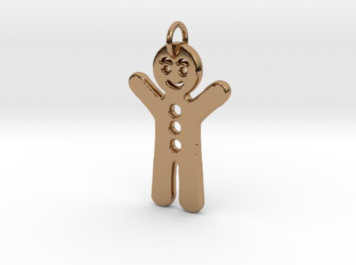 Gingerbread Man 3d printed